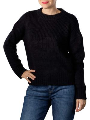 Maison Scotch Soft Knitted Crewneck Pullover night
