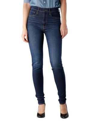 Levi's Mile High Super Skinny on the rise