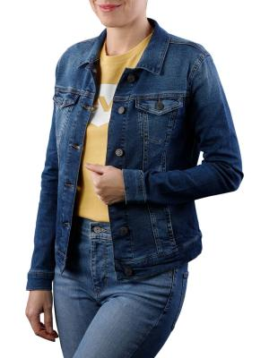 Mavi Daisy Jacket Denim dark used uptown sporty