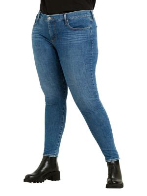 Levi's 310 PL Jeans Sahping Super Skinny tempo blue plus