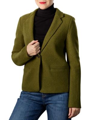 Marc O'Polo Heavy Knit Blazer olive green