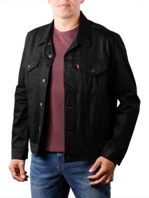 Levi's Relaxed Trucker Jacket polished black
