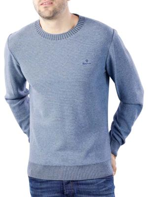 Gant Sunfaded Structure Crew Pullover insignia blue
