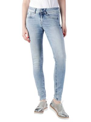 G-Star Lynn Mid Skinny Jeans sun faded blue