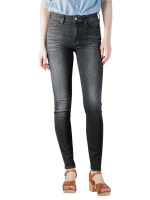 G-Star 3301 High Skinny Jeans Superstretch worn in coal