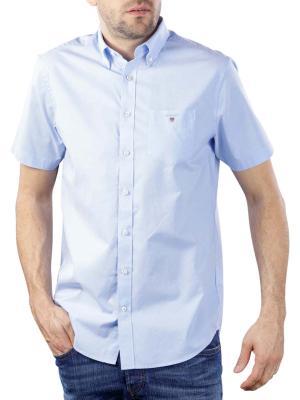 Gant The Broadcloth Reg SS BD Shirt hamptons blue