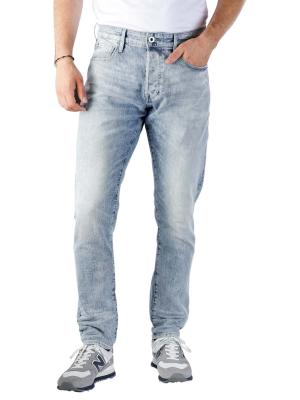 G-Star 3301 Straight Tapered Jeans Sato sun faded arctic