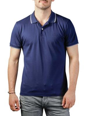 Gant Oxford Pique Ss Rugger Polo Shirt evening blue
