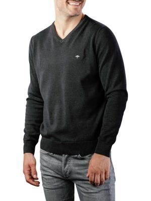 Fynch-Hatton V-Neck Sweater charcoal