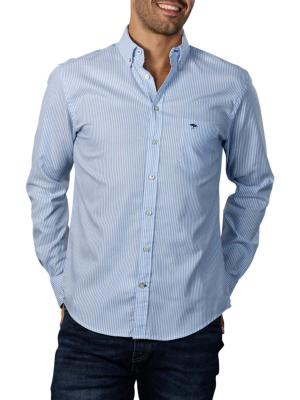 Fynch-Hatton All Season Oxford Shirt light blue stripe