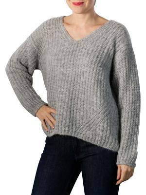 Set Pullover light grey