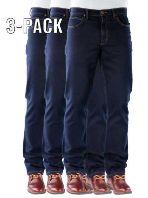 Lee Brooklyn Jeans blue black 3-Pack