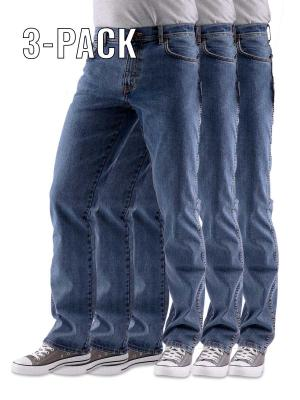 Wrangler Texas Stretch Jeans stonewash 3-Pack