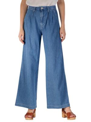 Levi's Pleated Wide Leg Jeans trouser as above