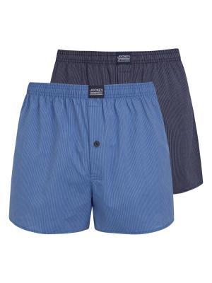 Jockey 2-Pack Boxer Woven star blue
