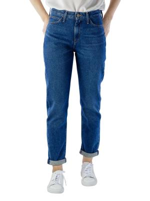 Lee Mom Straight Jeans worn lax