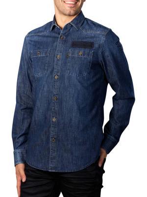 PME Legend Long Sleeve Shirt denim fabric