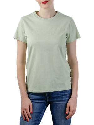 Levi's Logo Perfect Tee Shirt batwing outline bok choy