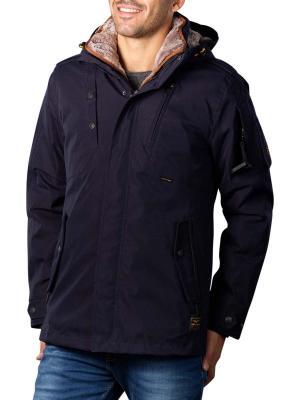 PME Legend Zip Jacket Hi Twill Snowpack 3.0 blue