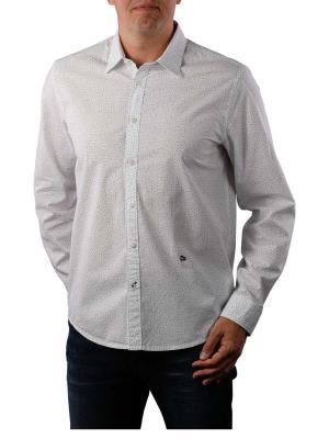 Pepe Jeans Darren 60s Poplin Print optic white