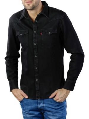 Levi's Barstow Western Standard Shirt marble black
