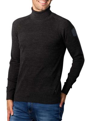 PME Legend Turtleneck Cotton Heather Sweater meteorite