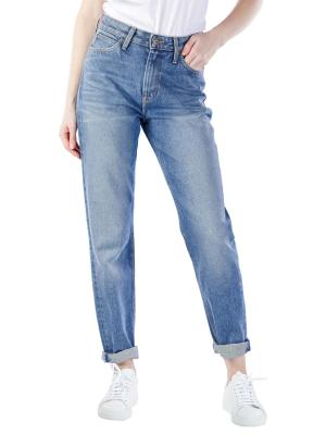 Lee Mom Jeans Straight worn in luther