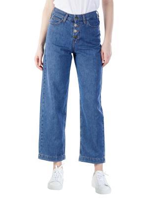 Lee Wide Leg Jeans dark drape