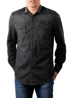PME Legend Long Sleeve Shirt Denim 998