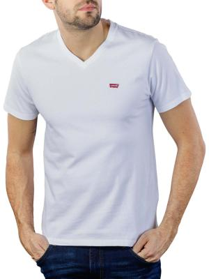Levi's Orig HM VNeck T-Shirt white