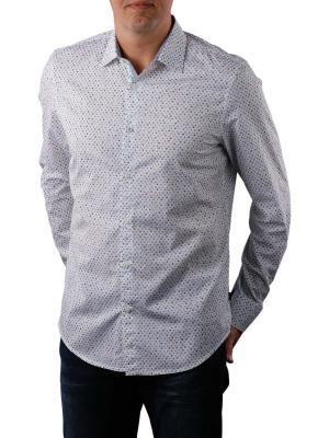 PME Legend Long Sleeve Shirt Poplin Print 7003