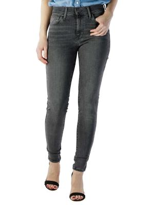 Levi's 720 High Rise Super Skinny Jeans fingers crossed