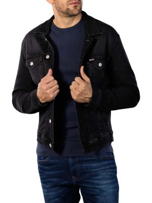Tommy Jeans Regular Trucker Jacket max black