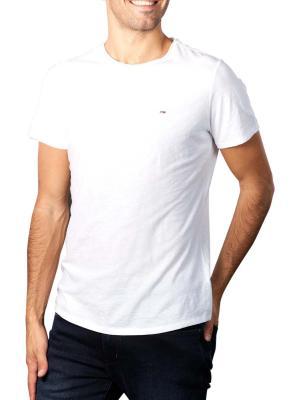 Tommy Jeans T-Shirt Slim Jaspe white