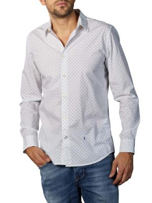 Pepe Jeans Edmonton Wallpaper Print Shirt white