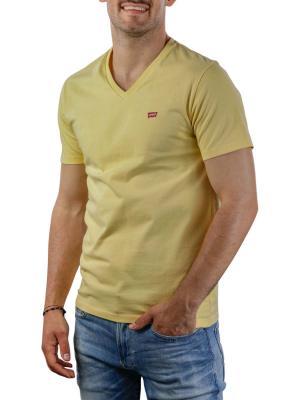 Levi's Orig HM V-Neck T-Shirt dusky citron