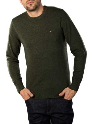 Tommy Hilfiger Extrafine Soft Wool Sweater camo green