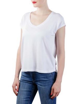 Marc O'Polo Sweat-Shirt Sleeveless white linen