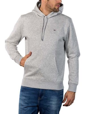 Tommy Jeans Regular Fleece Pullover light grey heather