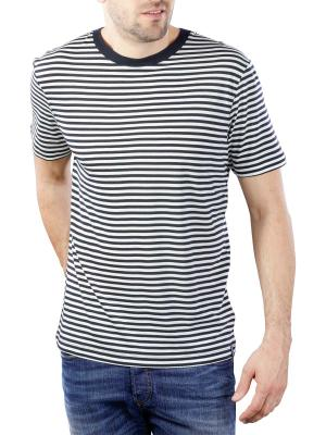 Scotch & Soda Chic Striped Crewneck Tee Tencel Quality 0220