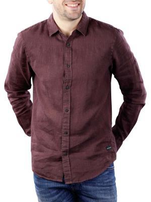 Scotch & Soda Classic Linen Dress Shirt 3499