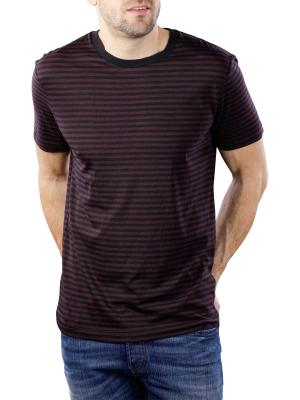 Scotch & Soda Chic Striped Crewneck Tee Tencel Quality 0218