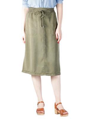Marc O'Polo Skirt Straight Shape soaked moss