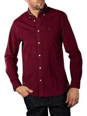 Tommy Hilfiger Flex Corduroy Shirt deep red