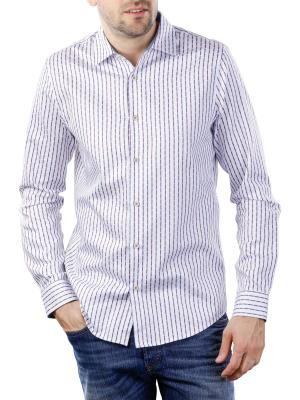 Vanguard Long Sleeve Shirt Stripe Woven Effect 7003