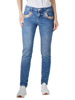 Mos Mosh Naomi Jeans Regular Wave blue