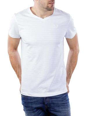 Vanguard V-Neck Jersey Structure Stripe 7003
