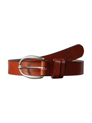 Sandy cognac Belt 3cm by BASIC BELTS