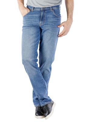 Wrangler Texas Jeans worn blue