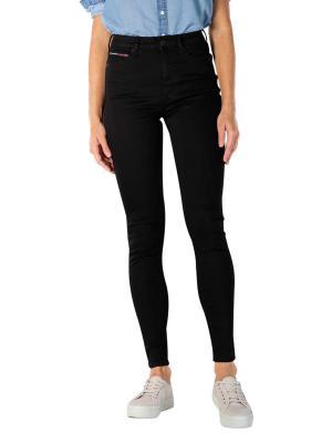 Tommy Jeans Sylvia Jeans Super Skinny staten black